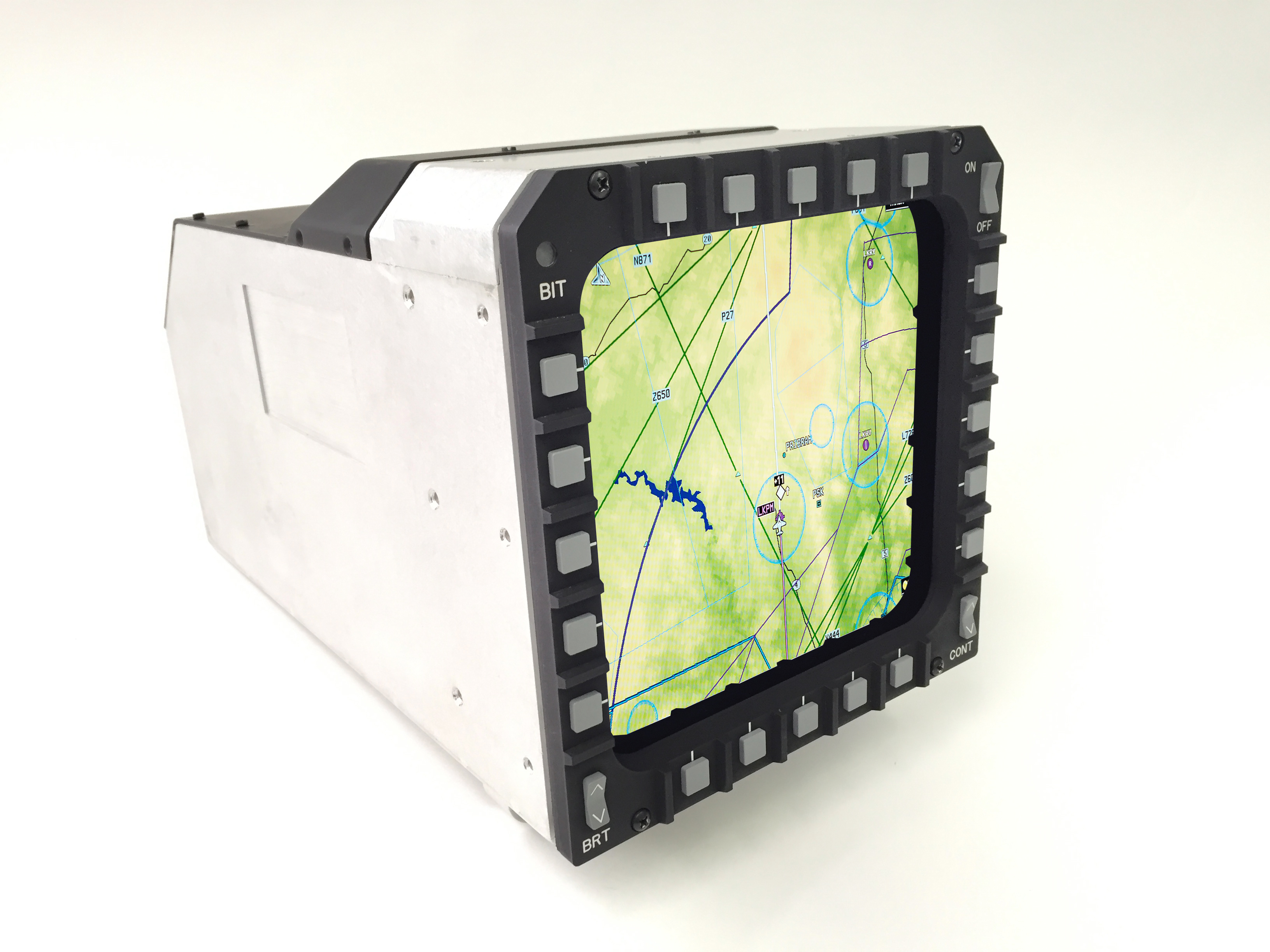 Technology Integration Trends In Avionic Displays Military Lcd Liquid Crystal Display Figure 1 The 6 By Multi Purpose Is A Component That Fit Directly Into Cockpit Of Existing F 15 With Minimal
